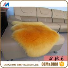 mongolian fur rug with high quality