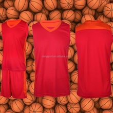Dery good quality jersey shirts design for basketball in 100% breathable fabric