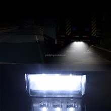 2V 3LEDs Number Licence Plate Light Rear Tail Lamp Truck Trailer Lorry Auto Lights White for Ford Toyota Volkswagen