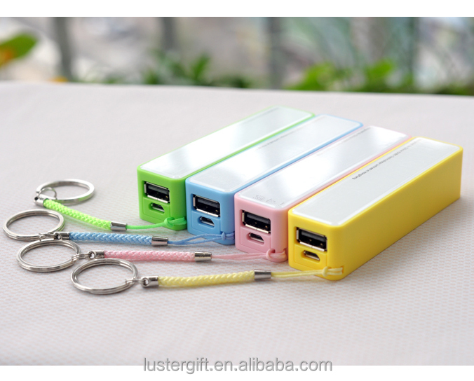 Promotion Gift 2600mAh Portable Battery Charger USB Perfume Power Bank for Smart Phone
