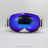ski goggles with logo, camera, interchangable lens