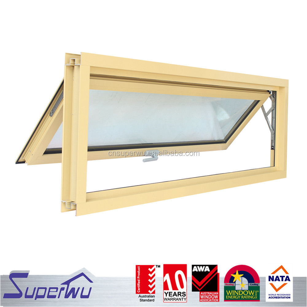 Superwu safety windows and doors Australian as2047 aluminium awning window security grilles