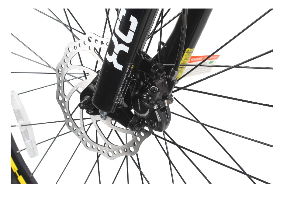 front fork with disc brake