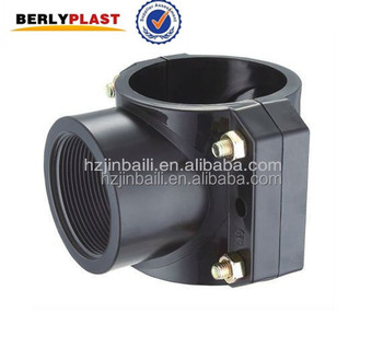 Wholesale Alibaba PP Pipe Plastic Saddle Clamp