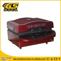 Heat press 3D sublimation vacuum machine for ipad case Multifunction