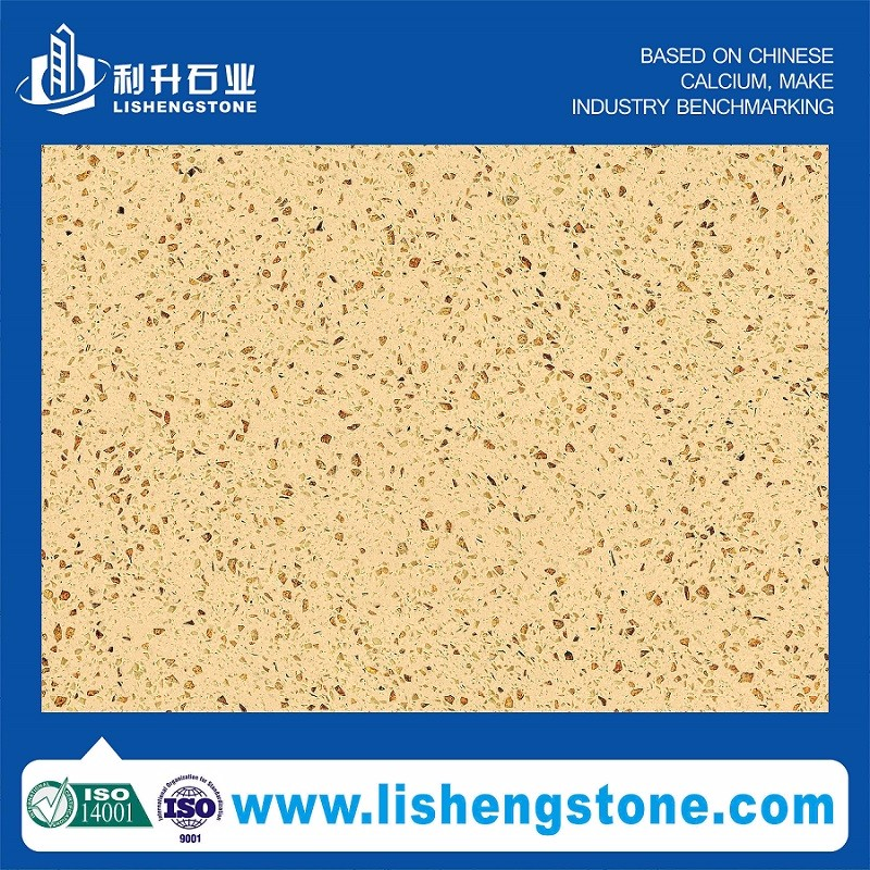 High glossy quartz stone supplier with ISO9001 certificate
