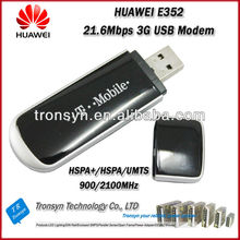 Original Unlock 21.6Mbps E352 3g sd card modem and 3G USB Dongle