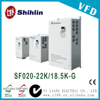 SF020-22K/18.5K-G 30HP Taiwan three phase dual-load high performance vector control inverter power inverter