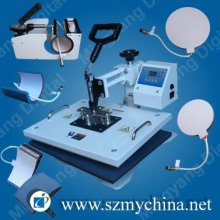 6 IN 1 Combo heat press machine from china