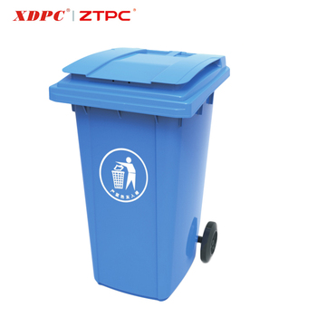 Best Quality 2 Wheels 240L Street Waste Bin