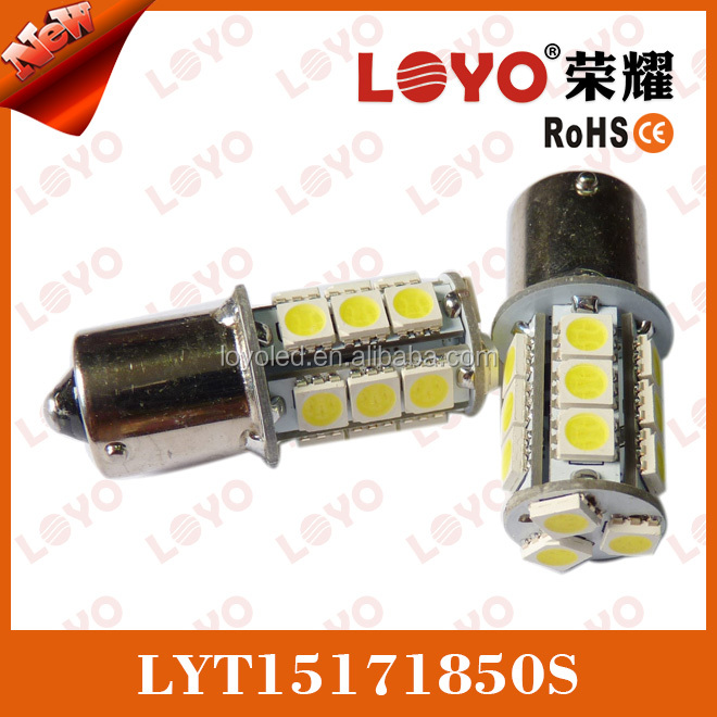 18SMD 1156 BA15s CANBUS LED Indicator bulbs red ,yellow.white,blue light
