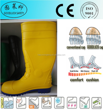 CE S5 PVC Safety Footwear PVC Rubber Boots