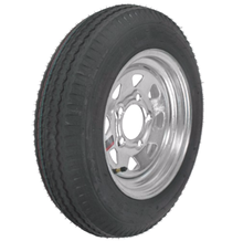 Off road trailer tire and wheel package