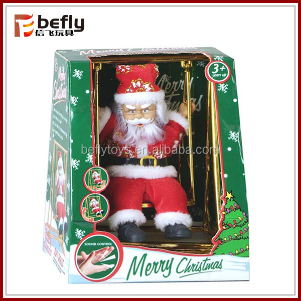 Hot sale electric santa claus toy