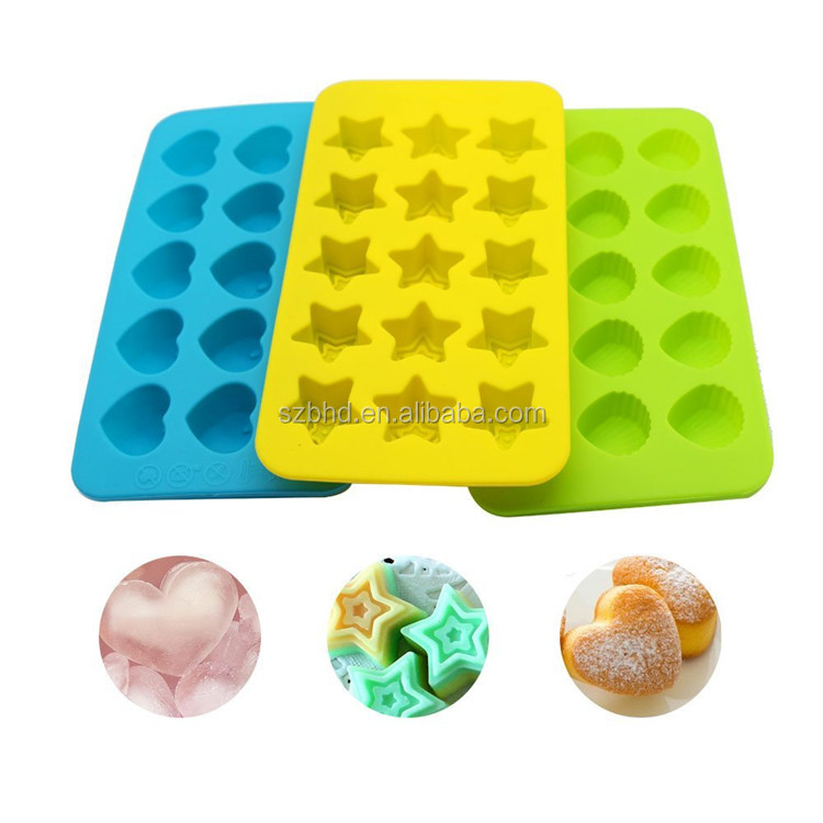 2017 Hot Sales Cheap High Quality Silicone Chocolate Mold / Chocolate Mold Tray
