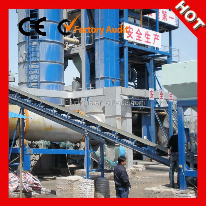 High Efficiency Asphalt Equipment Stationary Asphalt Batching Plant for Sale