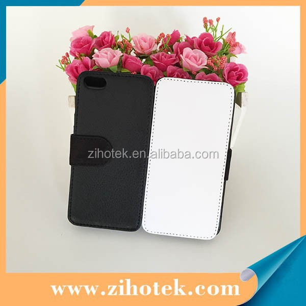 Wholesale factory provide blank leather sublimation cover cases for iPhone 5C