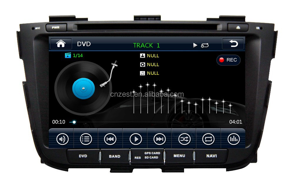 car dvd gps studio For KIA Sorento 2013 car gps with auto radio Bluetooth SD USB Radio wifi 3G