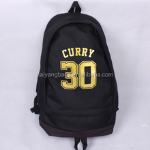 CUSTOMIZED SCHOOL STUDENT CANVAS BASKETBALL BACKPACK