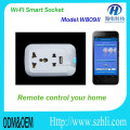 2016 new wifi controlled socket with APP IOS androd