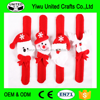 New style led christmas slap band