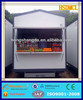 prefab portable outdoor guard security guard room fast food kiosk for sale