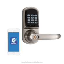 Electronic Smartphone Lock Bluetooth Digital Safe Keypad Smart Door Lock for home and apartment