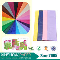 good quality various colors tissue paper design focus gift wrap