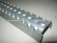 Galvanized Metal Ladder rung cover with channel