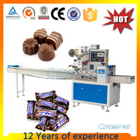 KT-250 Automatic chocolate back seal packaging bag machine