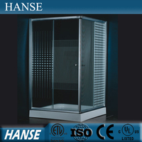 HS-SR805 Glass shower room/ 1 piece shower enclosures/square shower set