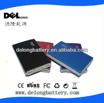 High Capacity Of 15000mah Portable Power Bank For Iphone