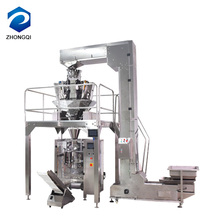 Food popcorn potato chips standing pouch seal packing machine price in india