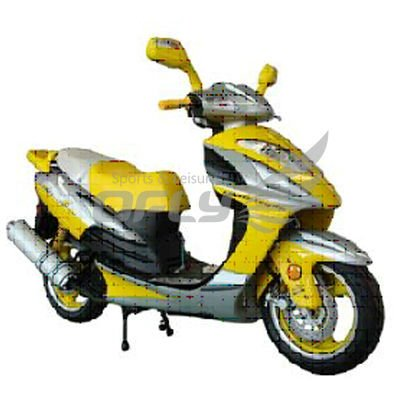 EEC/EPA DOT Approved 150cc Gas Motor Scooter Equipped WZMS1521EEC/EPA