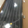 Black chrome coating flat plate solar collector