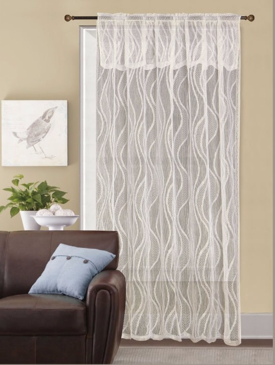 Latest curtain designs new style lace window curtain from for Latest window style