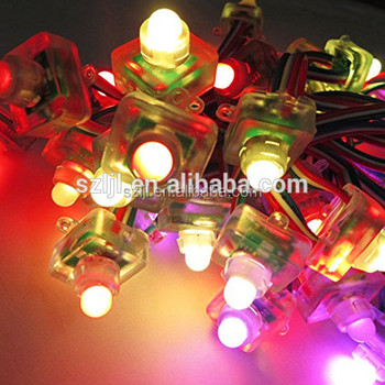 Outdoor DC5V RGB led cluster christmas lights for advertising(CE&ROHS)