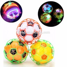 HOT LED Light Jumping Ball Kids Crazy Music Football Bouncing Dancing Ball Children's Funny Toy