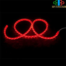 LED PVC 220vac input warm write led rope light