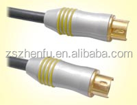 Metal shell RCA cable for TV