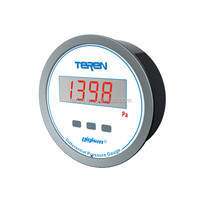 Digital differential pressure gauge manometer price with alarm and LED display
