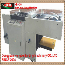 HB-420 Heavy duty paper hole punching machine, loose-leaf notebook and calendar hole making machine