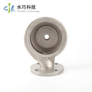 High precision stainless steel water pump impeller for machinery parts