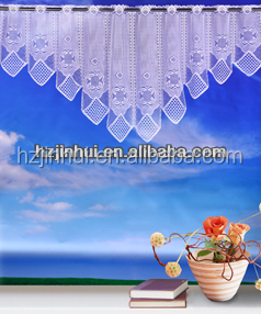 Wholesale Country Floral Kitchen Curtains Made in China