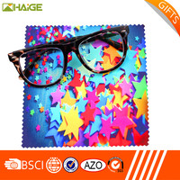 Oem Custom Best Cleaning And Super Soft Microfiber Suede Glasses Cleaning Cloth