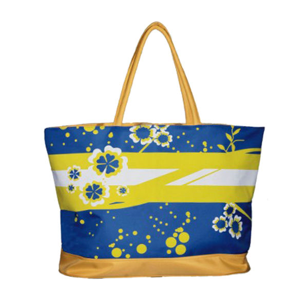 190T polyester recycled promotional shopping bag