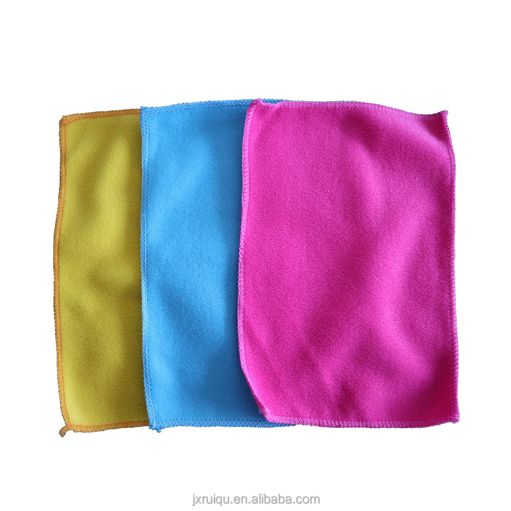 Factory High quality polyester kitchen super quick dry cleaning cloth best microfiber dish cloth
