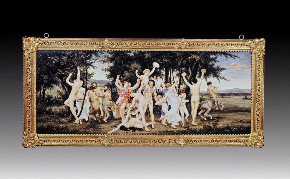 European Ceramic Wall mural, Home decoration Arts & Crafts