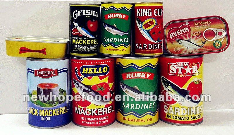 Natral Canned Fish Canned Food Brand