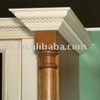 antique solid wood decorative pillar(EFS-365)